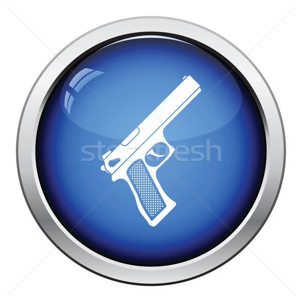 Gun icon Stock photo © angelp