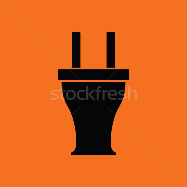 Electrical plug icon Stock photo © angelp