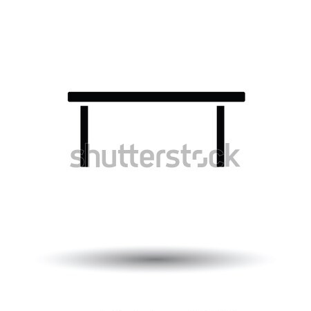 Coffee table icon Stock photo © angelp