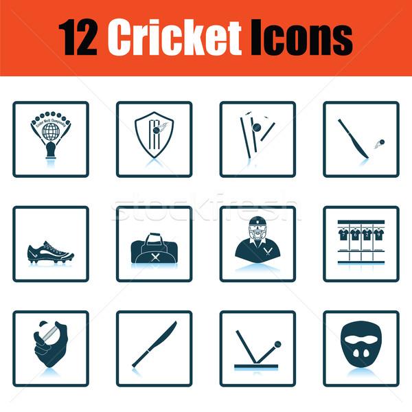 крикет тень отражение дизайна комнату Сток-фото © angelp