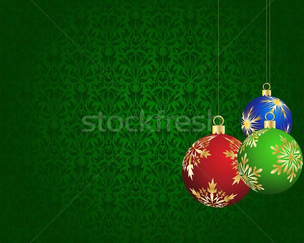 美しい ベクトル クリスマス ストックフォト © angelp