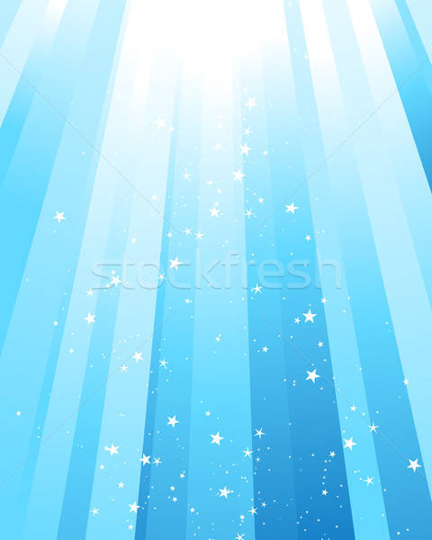 underwater rays Stock photo © angelp