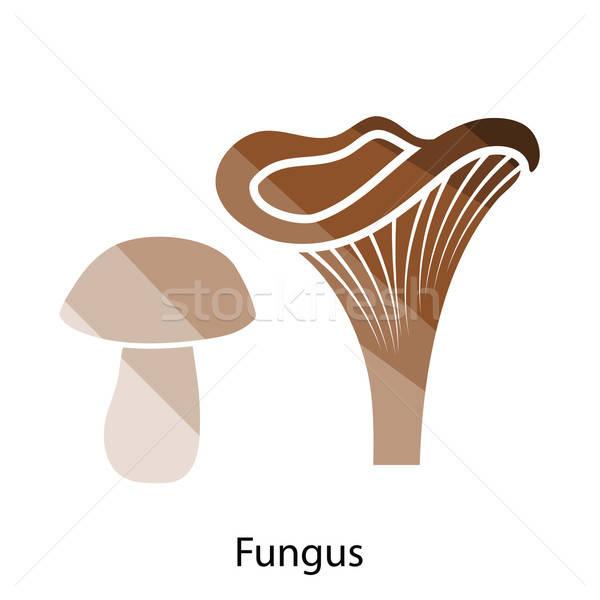 Mushroom  icon Stock photo © angelp