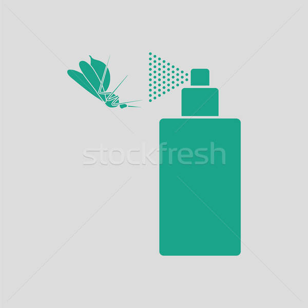Stock photo: Mosquito spray icon