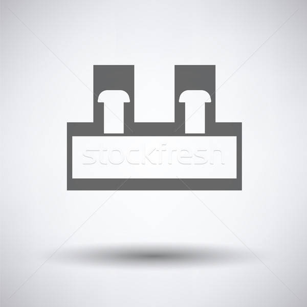 Electrical connection terminal icon Stock photo © angelp