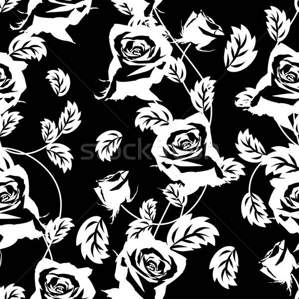 seamless floral pattern Stock photo © angelp