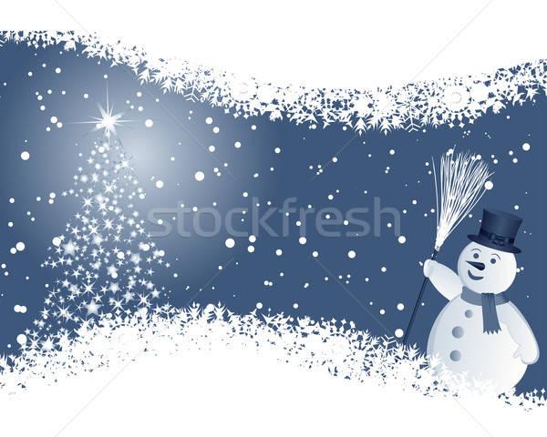 christmas background Stock photo © angelp