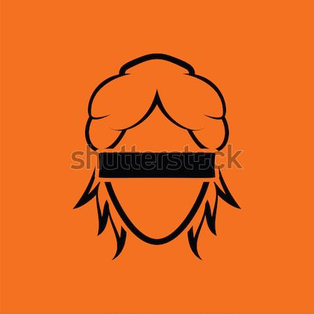 Femida head icon Stock photo © angelp