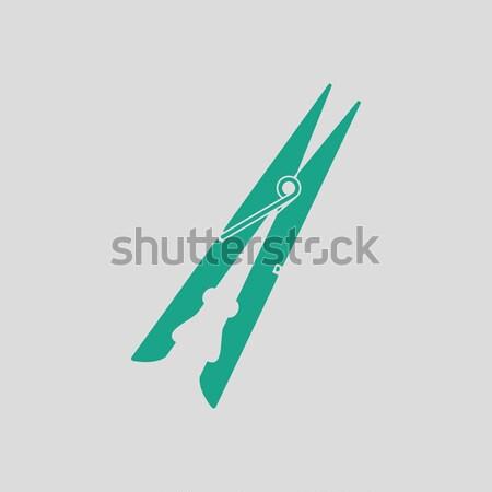 Knife icon Stock photo © angelp