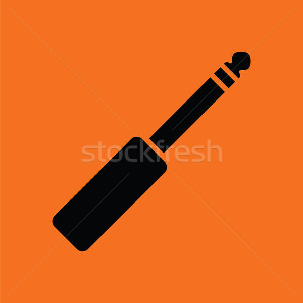 Music jack plug-in icon Stock photo © angelp