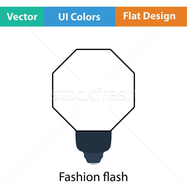Icon of portable fashion flash Stock photo © angelp