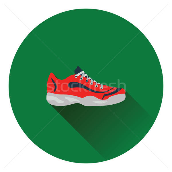 Tennis sneaker icon Stock photo © angelp
