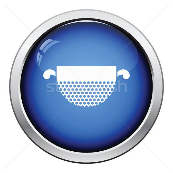 Kitchen colander icon Stock photo © angelp