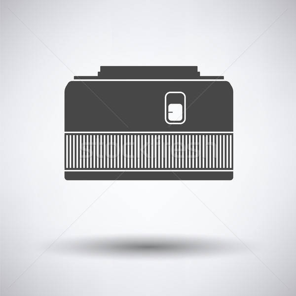 Icon of photo camera 50 mm lens Stock photo © angelp