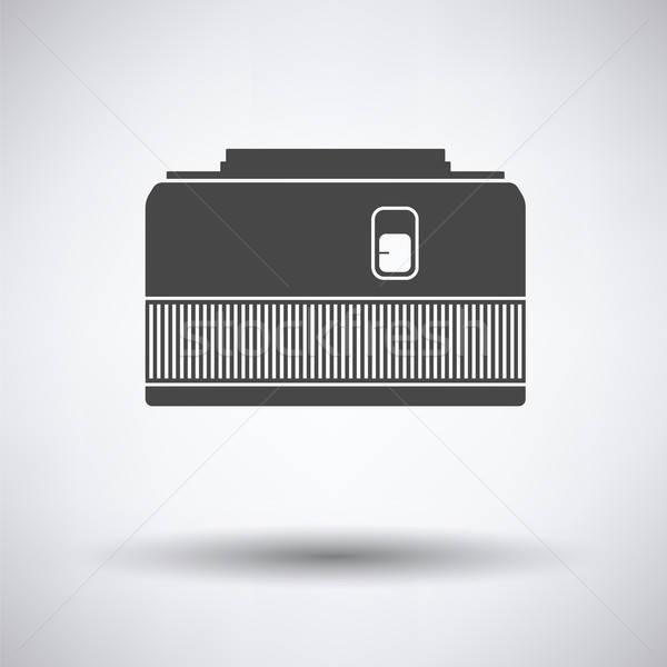 アイコン 写真 カメラ 50 レンズ グレー ストックフォト © angelp
