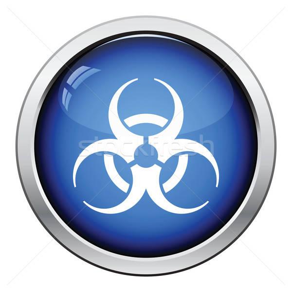 Biohazard icon Stock photo © angelp