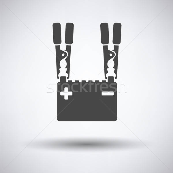 Car battery charge icon Stock photo © angelp
