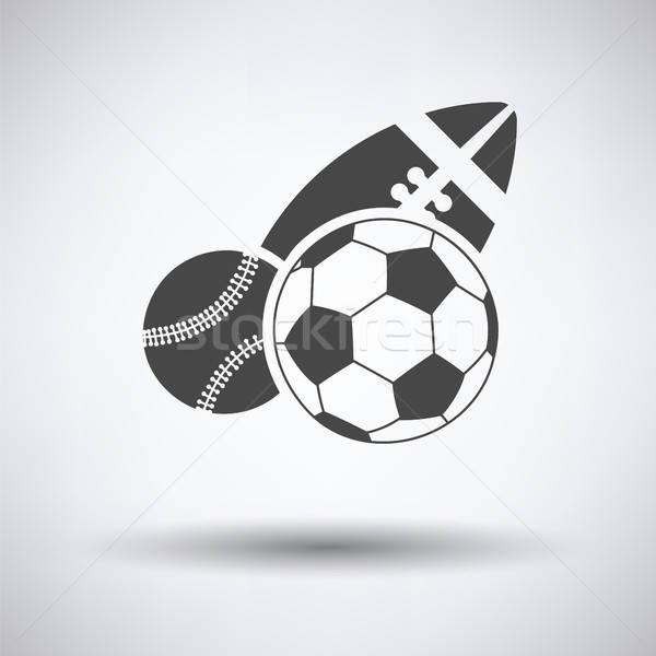 Sport balls icon Stock photo © angelp
