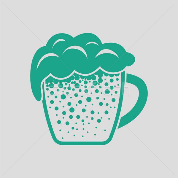 Mug of beer icon Stock photo © angelp