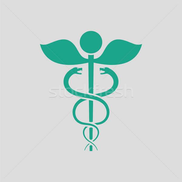 Medicine sign icon Stock photo © angelp