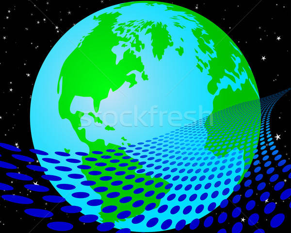 earth background Stock photo © angelp