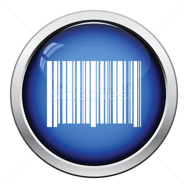 Bar code icon Stock photo © angelp