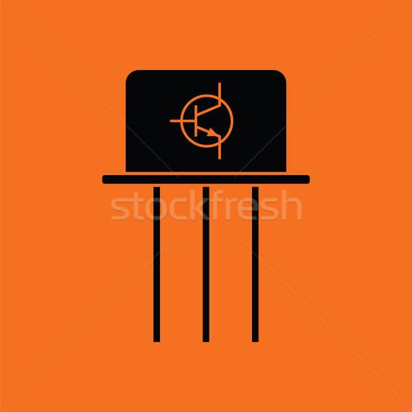 Transistor icon Stock photo © angelp