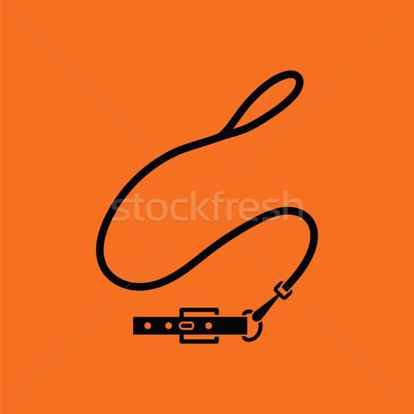 Dog lead icon Stock photo © angelp