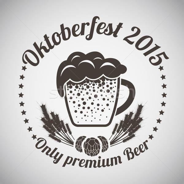 Stock photo: Oktoberfest Emblem