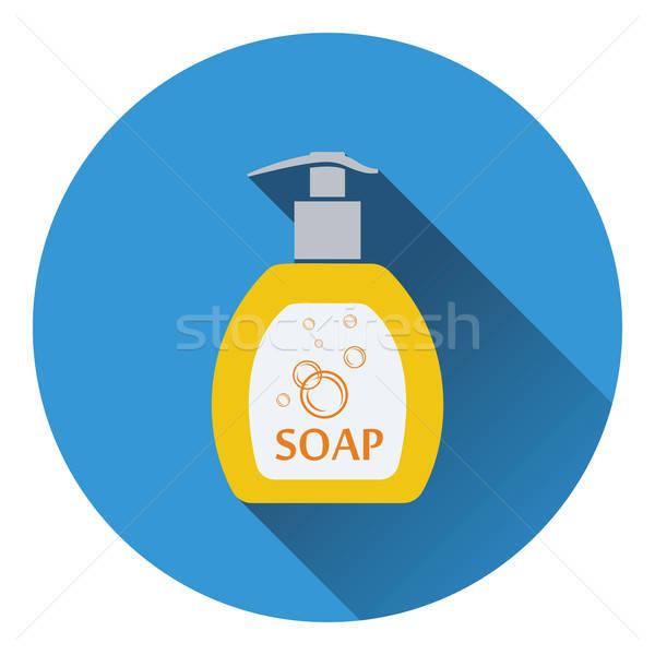 Liquid soap icon Stock photo © angelp