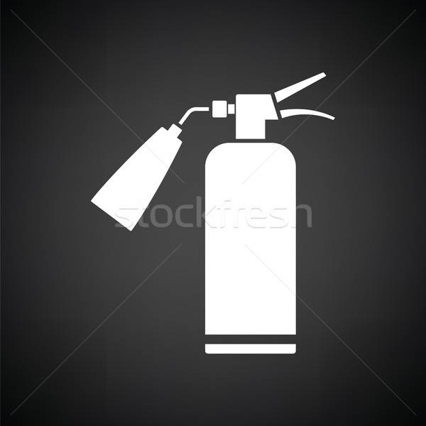 Fire extinguisher icon Stock photo © angelp