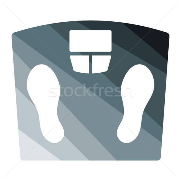 Floor scales icon Stock photo © angelp