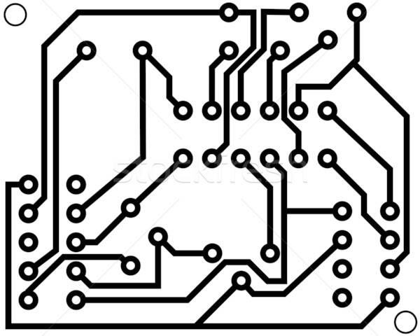 Electrical Scheme Vector Illustration Pavel Konovalov Angelp