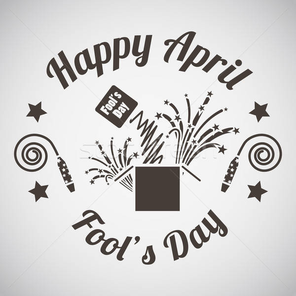 Foto stock: Dia · emblema · surpresa · caixa · festa · feliz