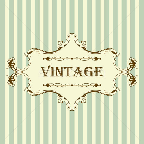 Vintage Frame Stock photo © angelp