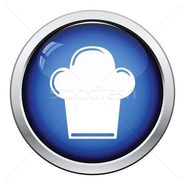 チーフ キャップ アイコン ボタン デザイン ストックフォト © angelp