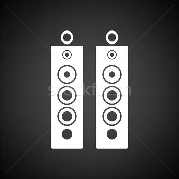 Audio system speakers icon Stock photo © angelp