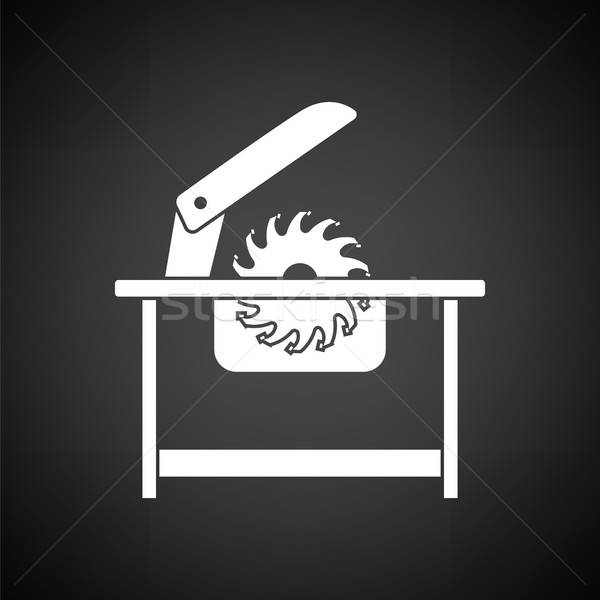 Circular saw icon Stock photo © angelp