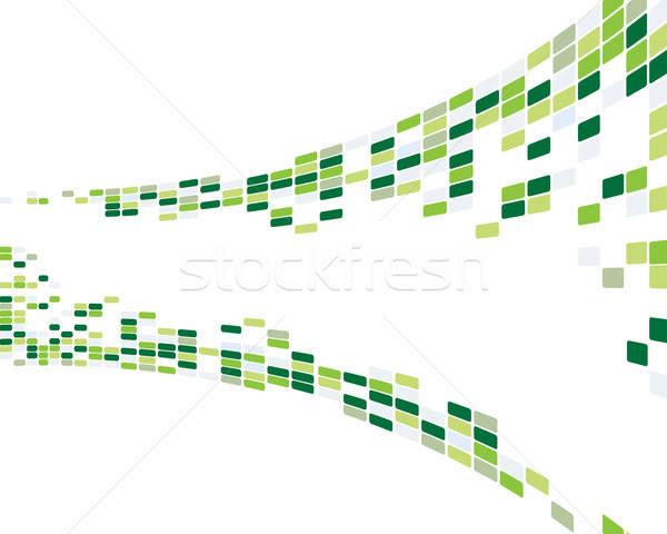 抽象的な 3D ビジネス Webデザイン デザイン 美 ストックフォト © angelp