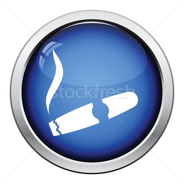 Cigar icon Stock photo © angelp