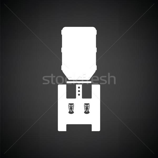 Water koeling machine zwart wit kantoor kunst Stockfoto © angelp
