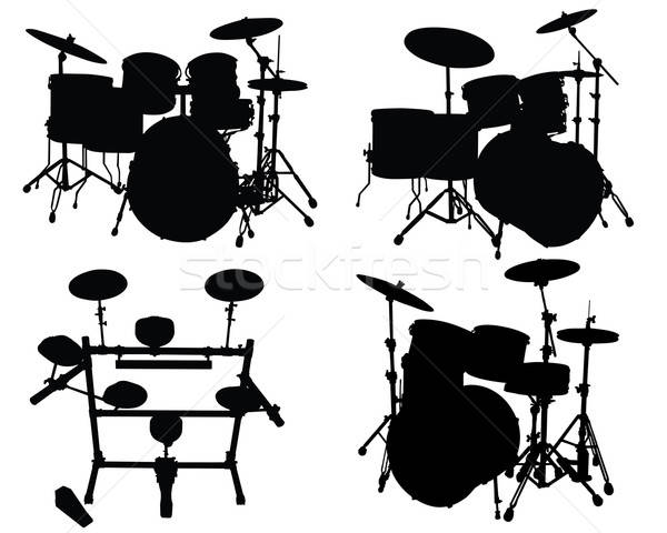 drums kits Stock photo © angelp