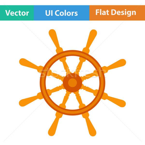 Ontwerp icon stuur ui kleuren abstract Stockfoto © angelp