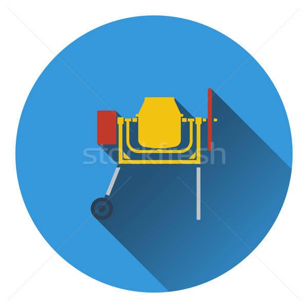 икона конкретные смеситель здании дизайна металл Сток-фото © angelp