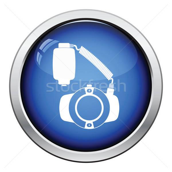 Photo stock: Icône · portable · cercle · macro · flash