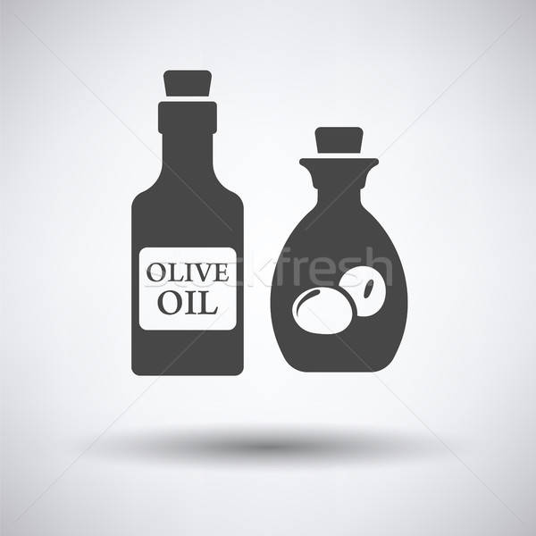 Bottle of olive oil icon Stock photo © angelp