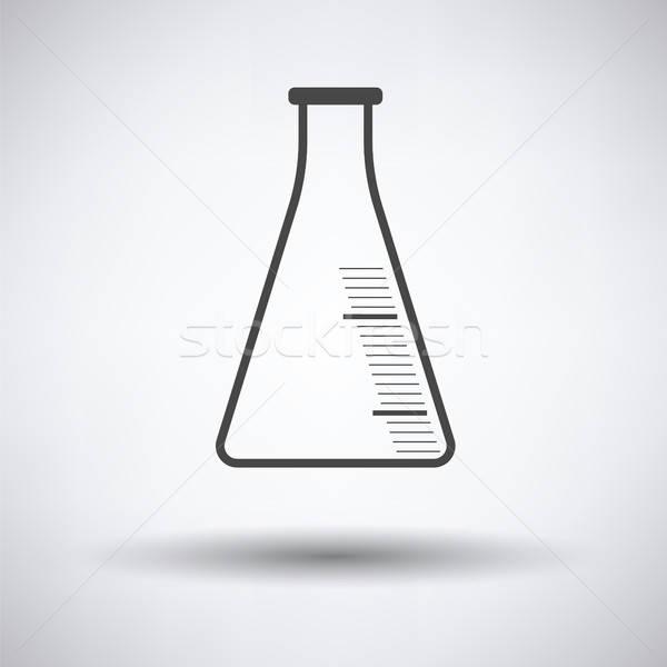 Ikon kémia kúp flaska orvosi felirat Stock fotó © angelp