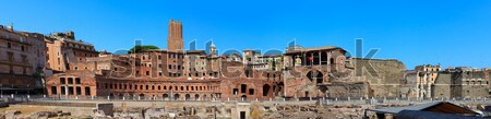Trajan's market Stock photo © angelp
