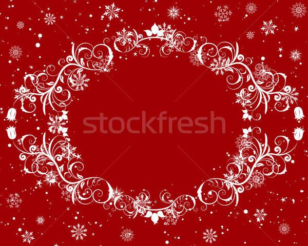 Сток-фото: Рождества · вектора · Новый · год · кадр · дизайна · природы