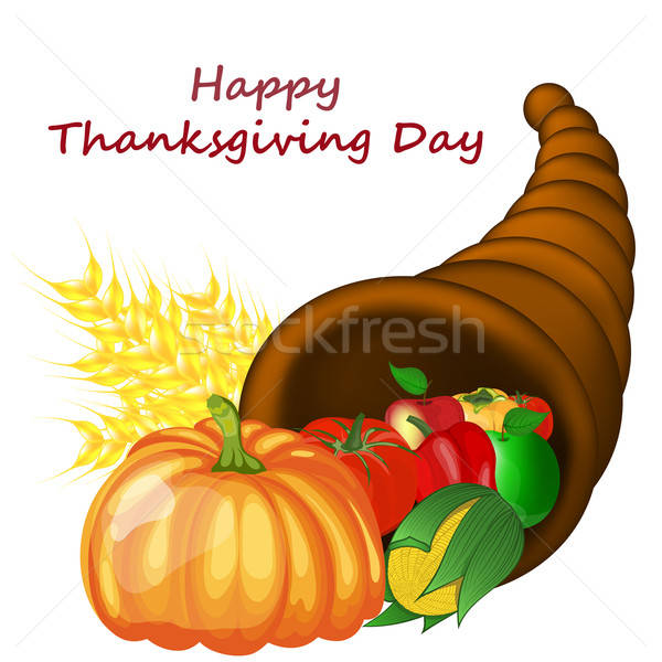 Thanksgiving Day Design Stock photo © angelp